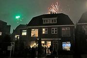 Nederland, Nijmegen, 1-1-2019 Nieuwjaar met afsteken van vuurwerk in de stad. Foto: Flip Franssen