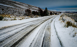 The A939 near Tomintoul, Highlands of Scotland.  At 1400 feet above sea level it is one of the highest roads in Scotland.<br /> <br /> (c) Andrew Wilson | Edinburgh Elite media