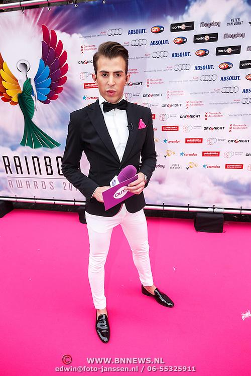 NLD/Amsterdam/20150629 - Uitreiking Rainbow Awards 2015, Chiel Harten