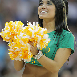 16 March 2009: A New Orleans Hornets Honeybees dancer performs during a  95-84 loss by the New Orleans Hornets to the Houston Rockets at the New Orleans Arena in New Orleans, Louisiana.