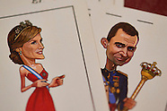 041816 Playing cards with Spanish Royals cartoon