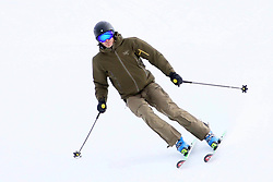 EXCLUSIVE: Andrea Casiraghi skiing in Gstaad. 01 Jan 2018 Pictured: Andrea Casiraghi. Photo credit: Corrado Calvo / MEGA TheMegaAgency.com +1 888 505 6342
