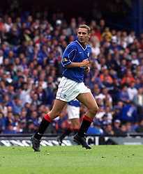 Peter Lovenkrands during a Rangers v Dunfermline game in August 2000..