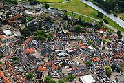 Nederland, Overijssel, Ommen, 30-06-2011;.Centrum van Ommen. Rechtsboven de Overijsselsche Vecht. Center of the village of Ommen. .luchtfoto (toeslag), aerial photo (additional fee required).copyright foto/photo Siebe Swart