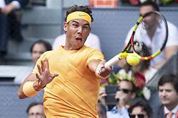 May 9, 2018 - Madrid, Spain - Spanish Rafa Nadal during Mutua Madrid Open 2018 at Caja Magica in Madrid, Spain. May 09, 2018. (Credit Image: © Coolmedia/NurPhoto via ZUMA Press)