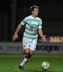 Yeovil Town's James Berrett  - Photo mandatory by-line: Harry Trump/JMP - Mobile: 07966 386802 - 03/03/15 - SPORT - Football - Sky Bet League One - Yeovil v Walsall - Huish Park, Yeovil, England.