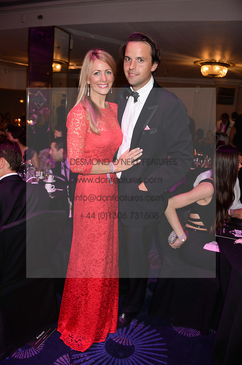 British fine jewellery brand Boodles welcomed guests for the 2013 Boodles Boxing Ball in aid of Starlight Children's Foundation held at the Grosvenor House Hotel, Park Lane, London on 21st September 2013.<br /> Picture Shows:-CHARLIE GILKES and ANNEKE VON TROTHA TAYLOR.<br /> <br /> Press release - https://www.dropbox.com/s/a3pygc5img14bxk/BBB_2013_press_release.pdf<br /> <br /> For Quotes  on the event call James Amos on 07747 615 003 or email jamesamos@boodles.com. For all other press enquiries please contact luciaroberts@boodles.com (0788 038 3003)