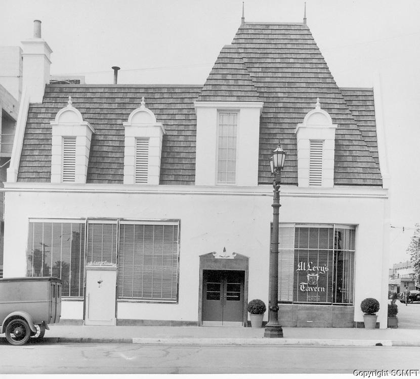 1932 Al Levy's Tavern on Vine St.