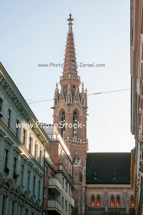 St. Othmar among the white tanners Catholic church, Kolonitzplatz, Vienna, Austria