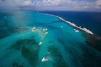Grand Cayman Island in the Caribbean is a famous scuba diving and holiday haven with clear waters and a diverse selection of reefs.