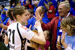 Alja Jankovic of Krim at last 10th Round handball match of Slovenian Women National Championships between RK Krim Mercator and RK Olimpija, on May 15, 2010, in Galjevica, Ljubljana, Slovenia. Olimpija defeated Krim 39-36, but Krim became Slovenian National Champion. (Photo by Vid Ponikvar / Sportida)