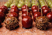Mealworm covered caramel apples is one of the many insect-based novelty sweets made by the Hotlix Candy Company, Pismo Beach, California. (Man Eating Bugs: The Art and Science of Eating Insects)