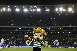 November 22, 2017 - Lisbon, Portugal - Sporting mascot ''Jubas'' before the UEFA Champions League group D match between Sporting CP and Olympiacos FC at Alvalade Stadium on November 22, 2017 in Lisboa, Portugal. (Filipe Amorim / Nurphoto) (Credit Image: © Filipe Amorim/NurPhoto via ZUMA Press)