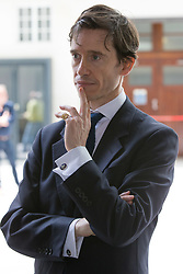 © Licensed to London News Pictures. 26/05/2019. London, UK. RORY STEWART MP is seen leaving BBC Broadcasting Houses in London. A number of Conservative MPs have entered the race to be the new leader of the party. Photo credit: George Cracknell Wright/LNP