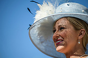 during the 147th Kentucky Derby at Churchill Downs.<br /> <br /> (Photo by William DeShazer)
