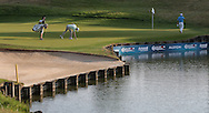 /murr/ & Damien McGrane (IRL) putting on the 16th during Round One of the 2015 Alstom Open de France, played at Le Golf National, Saint-Quentin-En-Yvelines, Paris, France. /03/07/2015/. Picture: Golffile | David Lloyd<br /> <br /> All photos usage must carry mandatory copyright credit (© Golffile | David Lloyd)