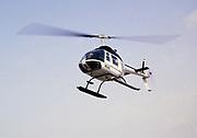 Oil industry in Ras Tanura area, Saudi Arabia, helicopter Bell 206 JetRanger 1979