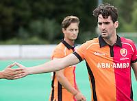 ROTTERDAM -HOCKEY - ABN AMRO CUP , als voorbereiding op de competitie. Oranje-Rood  captain Robert van der Horst.   COPYRIGHT KOEN SUYK