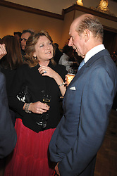 LEONORA, COUNTESS OF LICHFIELD and THE DUKE OF KENT at a reception to launch the Knight of Glin's book 'Irish Furniture' and Harry Erne's book 'Freddy Lond Ears' held at Christie's, 8 King Street, London SW1 on 3rd May 2007.<br /><br />NON EXCLUSIVE - WORLD RIGHTS