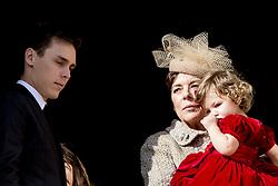 Louis Ducruet, Prinzessin Caroline von Hannover und India Casiraghi bei den Feierlichkeiten zum Nationalfeiertag in Monaco / 191116<br /> <br /> ***National Day in Monaco, November 19th, 2016***