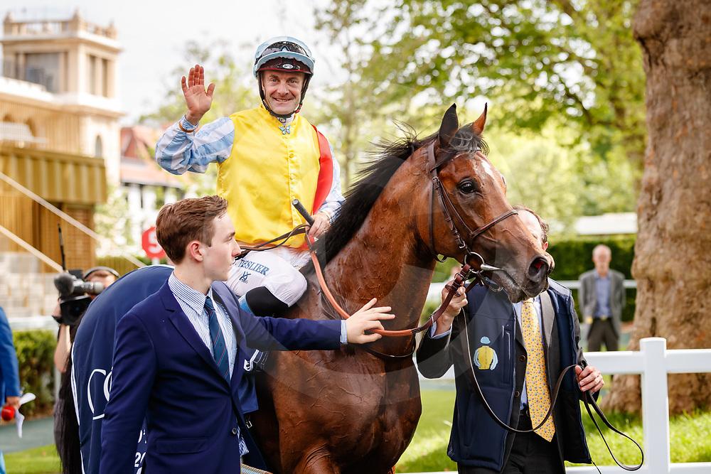 Recoletos (O. Peslier) wins Churchill Coolmore Prix d'Ispahan Gr. 1 in Paris Lonchamp, France, 27/05/2018, photo: Zuzanna Lupa