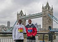 London Marathon Elite Mens Press Facility 240419