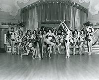 1945 Dancers at the Florentine Gardens Nightclub