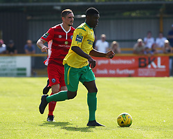August 28, 2017 - London, United Kingdom - Adetayo Osifuwa of Thurrock FC.during Bostik League Premier Division match between Thurrock vs Billericay Town at  Ship Lane Ground, Aveley on 28 August 2017  (Credit Image: © Kieran Galvin/NurPhoto via ZUMA Press)