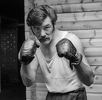 John Rodgers, boxer, amateur, N Ireland, June, 1972, 197206000345<br />