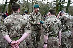 Prince Harry visits 42 Commando Royal Marines - 20 Feb 2019