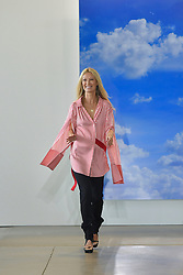 Designer Sylvie Millstein on the runway during the Hellessy Fashion show at New York Fashion Week Spring Summer 2018 held in New York, NY on September 8, 2017. (Photo by Jonas Gustavsson/Sipa USA)