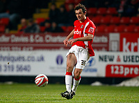 Fotball<br /> England<br /> 19.01.2010<br /> Foto: Colorsport/Digitalsport<br /> NORWAY ONLY<br /> <br /> Coca-Cola Div 1<br /> Charlton Athletic Vs Hartlepool United at The Valley<br /> Christian Dailly of Charlton Athletic