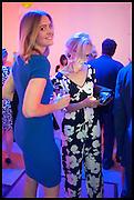 SALLY GOODHALL; ADELE DOWNEY, Matt's Gallery 35th birthday fundraising supper.  42-44 Copperfield Road, London E3 4RR. 12 June 2014.