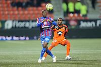 Herve BAZILE - 14.03.2015 - Lorient / Caen - 29eme journee de Ligue 1<br /> Photo : Vincent Michel / Icon Sport