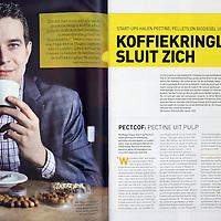 Nederland, amsterdam , december 2014.<br /> Rudi Dieleman, 1 van de oprichters van het bedrijf Pectcof.<br /> Foto:Jean-Pierre Jans