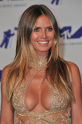 Heidi Klum at the 2017 MTV Video Music Awards held at The Forum on August 27, 2017 in Inglewood, CA, USA (Photo by Sthanlee B. Mirador/Sipa USA)