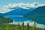 Muncho Lake. Northern Rocky Mountains<br />