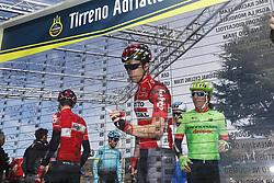 March 10, 2017 - Montalto Di Castro, ITALY - Belgian Jens Debusschere of Lotto Soudal pictured during the third stage of the 51st edition of the Tirreno-Adriatico cycling race,204 km from Monterotondo Marittimo to Montalto di Castro, Italy, Friday 10 March 2017. ..BELGA PHOTO YUZURU SUNADA (Credit Image: © Yuzuru Sunada/Belga via ZUMA Press)