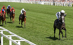 Alpha Centauri ridden by Jockey Colm O'Donoghue (right) wins the Coronation Stakes during day four of Royal Ascot at Ascot Racecourse.