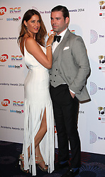 DAVE BERRY WITH LISA SNOWDON arrives for the Radio Academy Awards, London, United Kingdom. Monday, 12th May 2014. Picture by i-Images