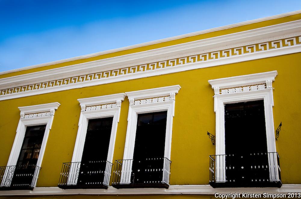 Beautiful Buildings in Puebla