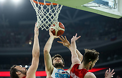 Michael Edward Tobey of Slovenia during friendly basketball match between National teams of Slovenia and Croatia, on June 18, 2021 in Arena Stozice, Ljubljana, Slovenia. Photo by Vid Ponikvar / Sportida
