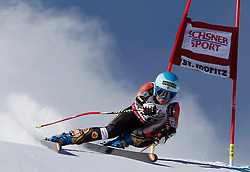 14.12.2013, Engiadina, St. Moritz, SUI, FIS Weltcup Ski Alpin, St. Moritz, Riesentorlauf, Damen, 1. Durchgang, im Bild Marie-Michele Gagnon (CAN) // in action during the 1st run of ladies Giant Slalom of the St. Moritz FIS Ski Alpin World Cup at the Engiadina in St. Moritz, Switzerland on 2013/12/14. EXPA Pictures © 2013, PhotoCredit: EXPA/ Freshfocus/ Christian Pfander<br /> <br /> *****ATTENTION - for AUT, SLO, CRO, SRB, BIH, MAZ only*****