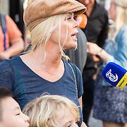 NLD/Amsterdam/20160831 - Premiere Wild Freek Vonk, Bridget Maasland