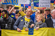 Chuka Umunna and Anna Soubry lead the march - It is estimated that over a million people joined the Put it to the People March from Park Lane to Parliament. Organised by the Peoples-Vote.UK to demand that, whatever deal is finally agreed, that it is put to the people to finally decide upon.