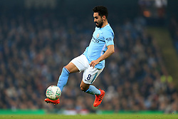 24th October 2017 - Carabao Cup (4th Round) - Manchester City v Wolverhampton Wanderers - Ilkay Gundogan of Man City - Photo: Simon Stacpoole / Offside.