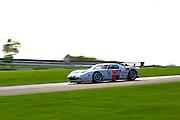 2012 FIA GT1 World Championship.Donington Park, Leicestershire, UK.27th - 30th September 2012.Laurent Groppi / Benjamin Lariche, Ford GT..World Copyright: Jamey Price/LAT Photographic.ref: Digital Image Donington_FIAGT1-18951