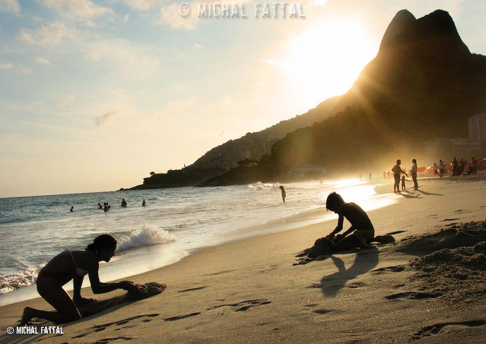 Ipanema beach, Rio de Janeiro.