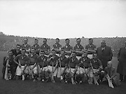Neg No: A782/42803-04288...10081958AISHCSF..10.08.1958, 08.10.1958, 10th August 1958....All Ireland Senior Hurling Championship - Semi-Final..Tipperary.01-13.Kilkenny.01-08...Tipperary.Team..J. OGrady, M. Byrne, M. Maher, K. Carey, J. Finn, A. Wall (Captain), John Doyle, J. Hough, T. English, D. Nealon, T. Larkin, Jimmy Doyle, L. Keane, L. Devaney, L Connolly. .A. Wall (Captain). ..