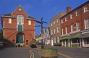 AYBRF4 The Shire Hall Woodbridge Suffolk England